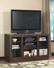 Standard Furniture TV Console Paramount in Wenge Finish ST-35516