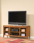 Standard Furniture TV Console Transitions in Oak Finish ST-35596