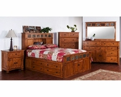 Storage Bedroom Set Sedona by Sunny Designs SU-2322RO-S-Set