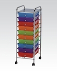 Storage Cart w/ 10 Drawers by Acme Furniture AC92102