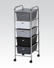 Storage Cart w/ 5 Drawers by Acme Furniture AC92106