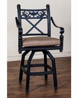 "Sunny Designs 30""H Swivel BarStool  Newport SU-4702AB-BS (Set of 2)"
