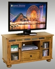 "Sunny Designs 46"" TV Console w/Game Drawer Sedona SU-3359RO-G"