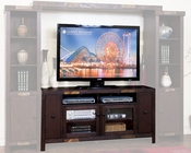 "Sunny Designs 62""W TV Console Walnut Creek SU-3465DWW-62"
