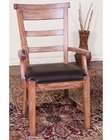 Sandalwood Arm Chair by Sunny Designs SU-1605SW (Set of 2)