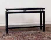 Sunny Designs Black Sofa/ Console Table SU-3224B-S