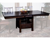 Butterfly Dining Table w/ Slate Santa Fe by Sunny Designs SU-1177DC