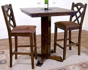 Sunny Designs Pub Height Dinette Set Santa Fe SU-1232DCs1