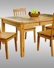 Sunny Designs Dining Table w/Slates Sedona SU-1273RO