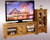 Sunny Designs Entertainment Center Sedona SU-3398RO-62-AP