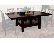 Grand Family Table Espresso by Sunny Designs SU-1197E