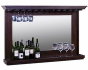 Sunny Designs Hanging BackBar w/ Mirror & Light SU-1916DC