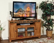 Sunny Designs Home TV Console Sedona SU-3454RO