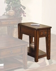 Sunny Designs Mango Grove Chair Side Table SU-3201WH-CS