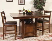 Sunny Designs Mango Grove Counter Height Dining Set SU-1157WH-Set
