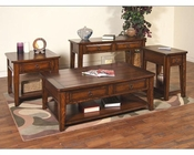 Sunny Designs Mango Grove Occasional Table Set SU-3201WH-Set