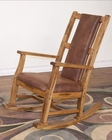 Sunny Designs Rocker in Rustic Oak Finish Sedona SU-1935RO-2