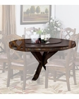 Round Table w/ Lazy Susan Savannah by Sunny Designs SU-1365AC
