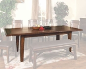 Sunny Designs Safari Extension Dining Table SU-1159SB