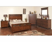 Sunny Designs Santa Fe 4pc Petite Bedroom Set SU-2333DC-SET
