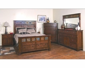 Sunny Designs Santa Fe Bedroom Set SU-2322DC-Set