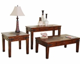 Sunny Designs Santa Fe Coffee Table Set SU-3160DC-Set