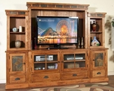 Sunny Designs Sedona Entertainment Wall SU-3439RO