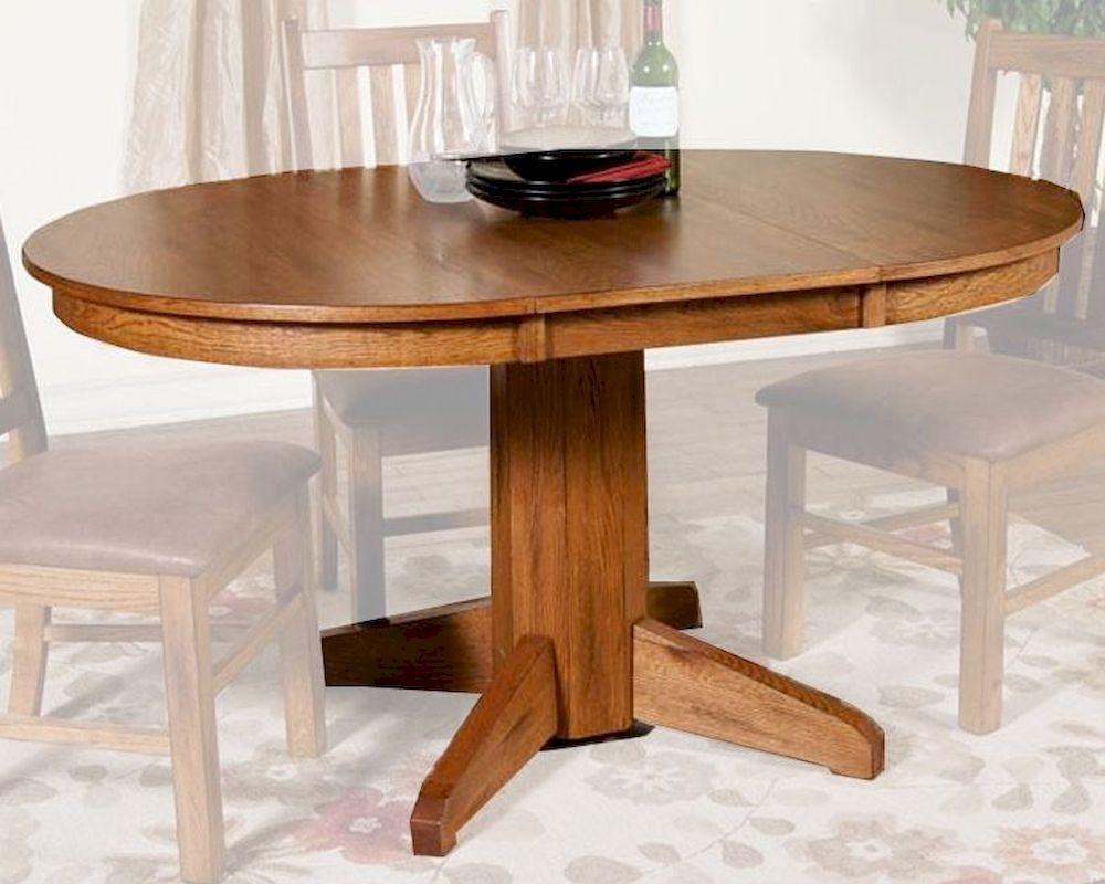 Sunny Designs Sedona Oval Extension Table SU-1114RO
