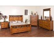 Sunny Designs Sedona Petite Bedroom Set SU-2333RO-Set