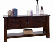 Sunny Designs Sofa/ Console Table Santa Fe SU-3135DC