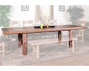 Sandalwood Table w/ Extension by Sunny Designs SU-1316SW