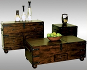 Sunny Designs Trunk Coffee Table Set Santa Fe SU-3166DC