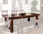 Sunny Designs Vineyard Extension Dining Table SU-1316RM