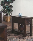 Sunny Designs Walnut Creek Dark Chair Side Table SU-3215DWW-CS