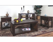 Sunny Designs Walnut Creek Dark Occasional Table Set SU-3215DWW-Set