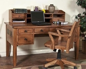 Sunny Designs Writing Desk and Hutch Sedona SU-2962RO