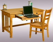 Sunny Designs Writing/Laptop Desk & Chair Sedona SU-2868RO-2PK