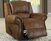 Swivel Rocker Reclining Chair Quinn by Homelegance EL-9708BJ-1