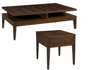 Table Set Claire de Lune by Somerton Dwelling SO-801-04SET