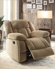 Taupe Reclining Glider Chair Laurelton by Homelegance EL-9636NF-1