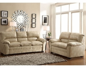 Taupe Sofa Set Talon by Homelegance EL-8511TP-SET