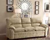 Taupe Sofa Talon by Homelegance EL-8511TP-3