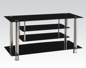 Tempered Glass TV Console by Acme Furniture AC91062