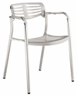 Toledo Indoor-Outdoor Dining Chair in Silver by Modway MY-EEI-197-SLV