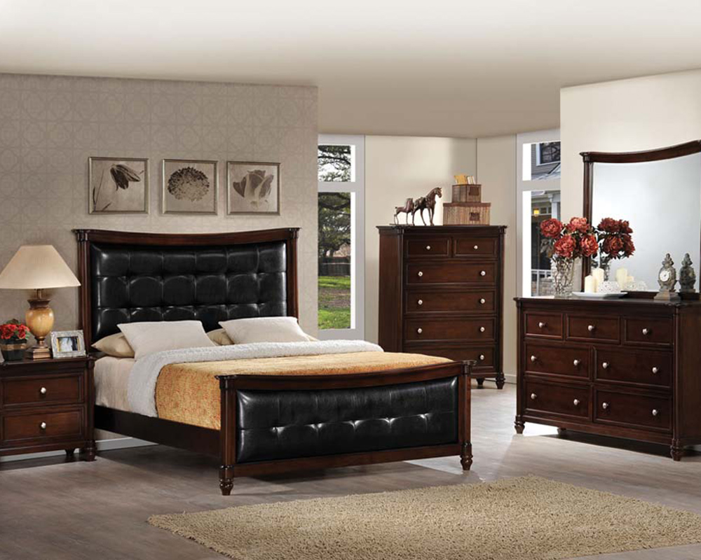 traditional bedroom set amaryllis by acme furniture ac22380set