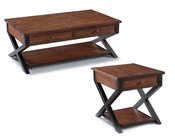 Traditional Coffee Table Set Lucerne by Magnussen MG-T2981SET