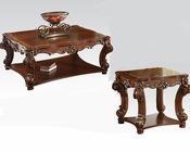 Traditional Coffee Table Set Vendome Cherry by Acme AC82002SET