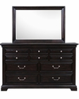 Traditional Dresser and Mirror Abernathy by Magnussen MG-B2564DM
