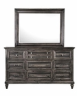 Traditional Dresser and Mirror Calistoga by Magnussen MG-B2590DM