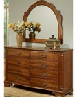 Traditional Dresser w/ Mirror American Heritage by Ayca AY-12-0608DM